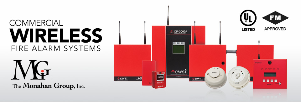 Commercial Wireless Fire Alarm Systems